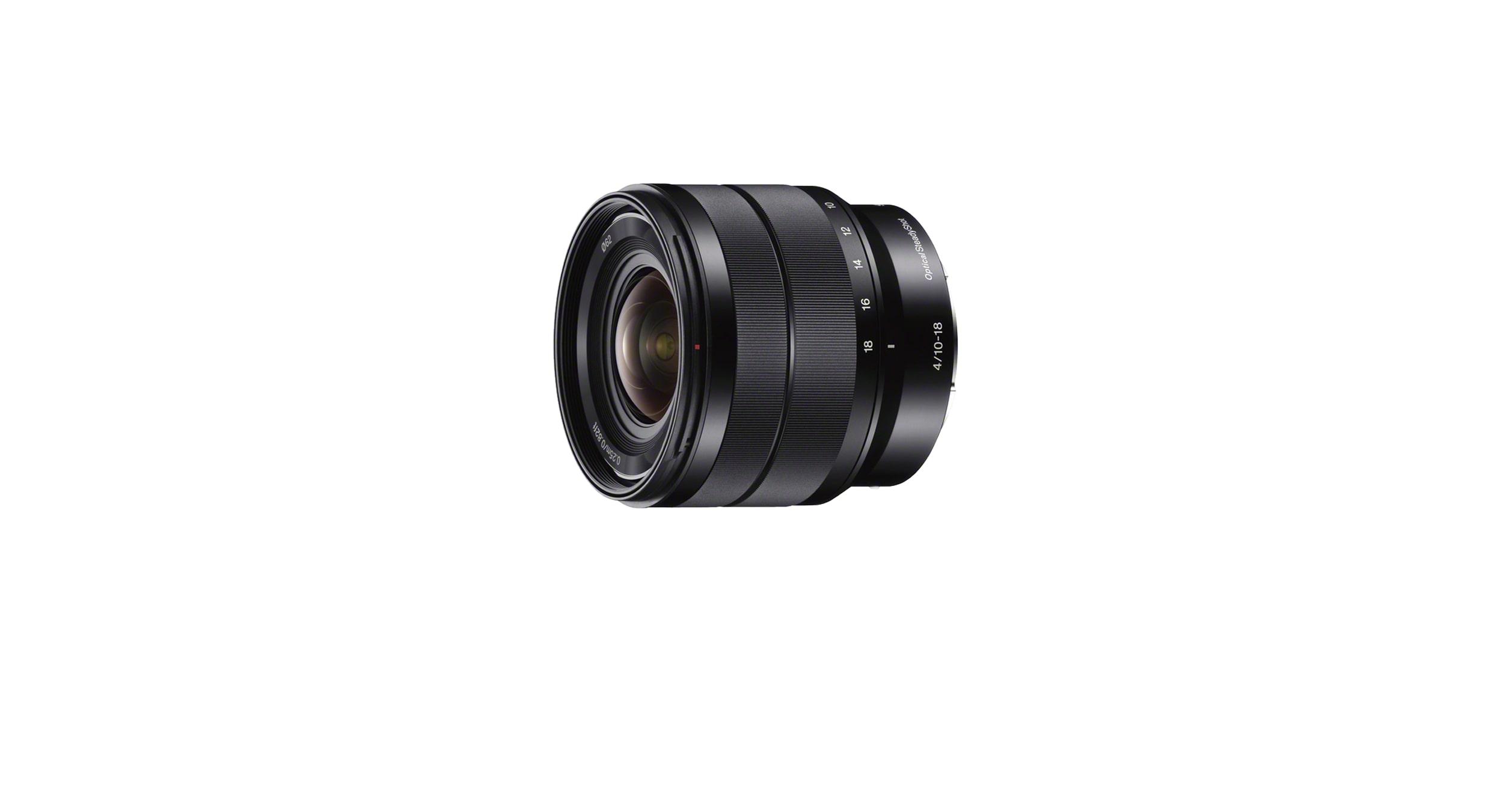 E 10 - 18 mm F4 OSS | SEL1018 | Sony DE