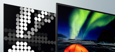 Fernsehbilder mit extremem Kontrast und lebensechter Tiefe