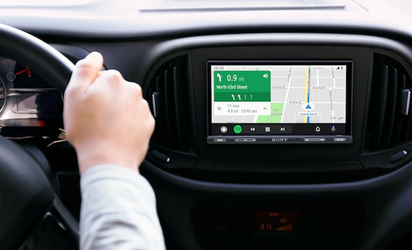 Navigation mit Android Auto