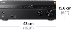 Bild von 7.2-Kanal-Home Entertainment-AV-Receiver | STR-DN860