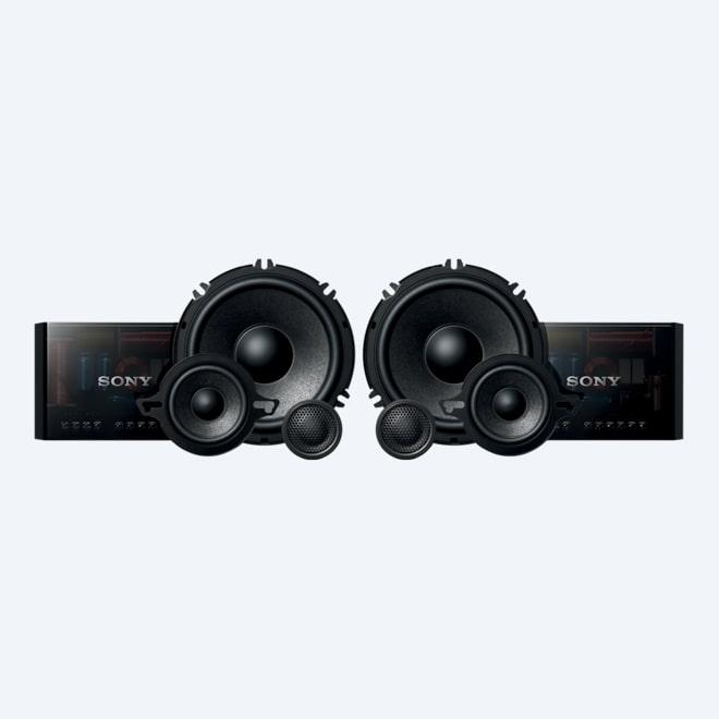 Spiksplinternieuw Lautsprecher für das Auto   Lautsprecher & Verstärker   Sony DE JI-07