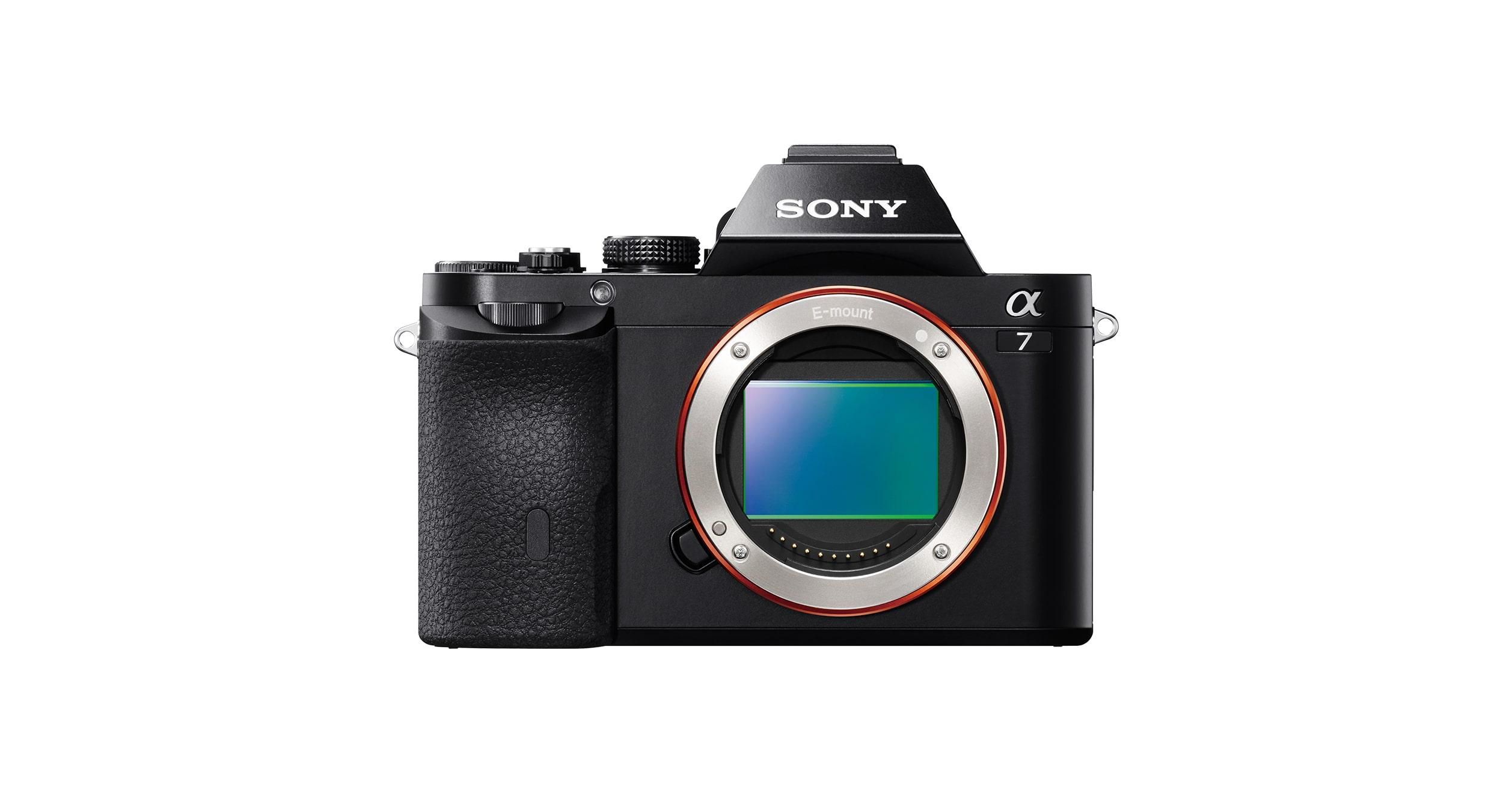 Alpha 7 E-Mount full-frame mirrorless Camera mit C-MOS Sensor | Sony DE