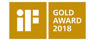 iF DESIGN GOLD AWARD 2018