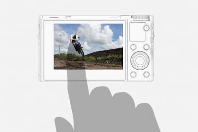 Bedienung per Touchfunktion für flüssige Aufnahmen
