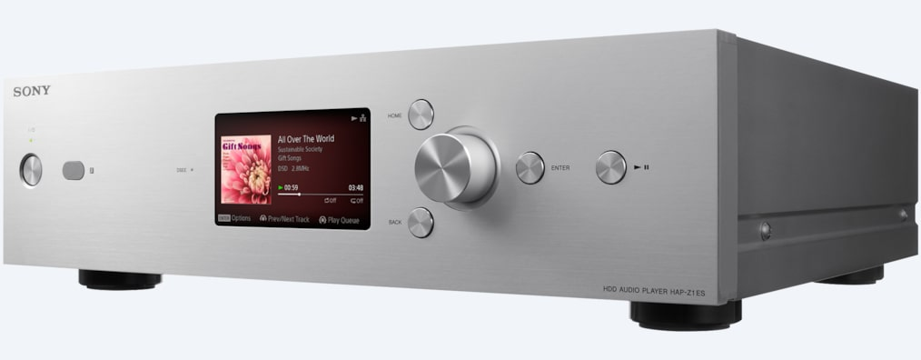 Bilder von HDD-Audioplayer mit High-Resolution Audio