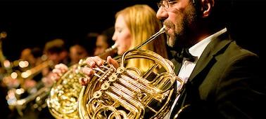 Abbildung: Musiker auf einem Konzert