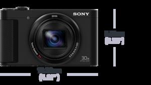 Bild von HX90V Kompaktkamera mit 30fachem optischem Zoom