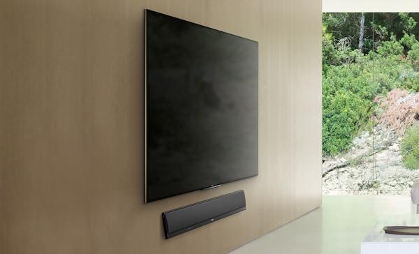 Lautsprecherleiste f r den fernseher usb soundbar mit wi - Fernseher wandmontage hohe ...