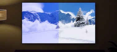 Abbildung eines Bildschirms, der die Vorteile eines Sensors für Licht und Farbe zeigt