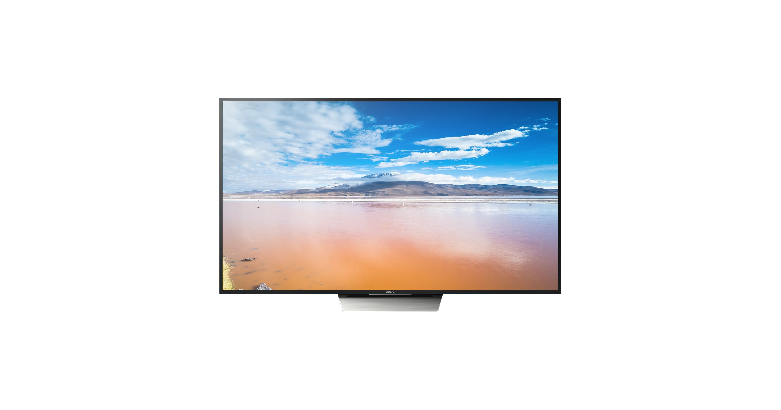 Flacher Fernseher   4K Fernseher mit Android TV   XD85   Sony DE