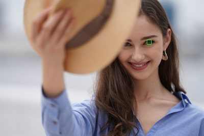Sofortige Fokussierung auf das Auge
