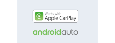 Android Auto und Apple CarPlay Logos