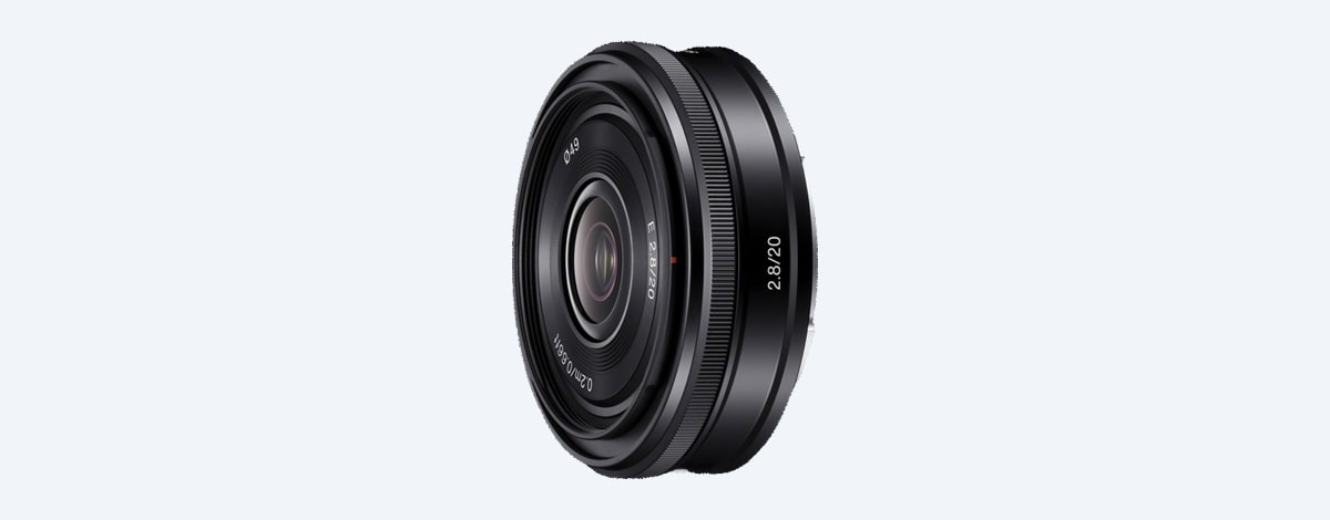20mm Weitwinkelobjektiv | SAL20F28 | Sony DE