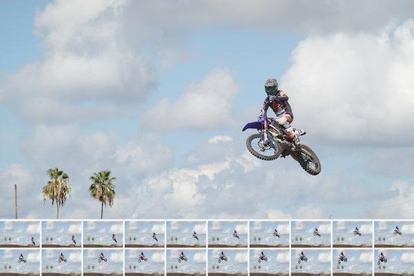 Schnelle Serienaufnahmen mit 20 Bildern/s, präzises AF-/AE-Tracking