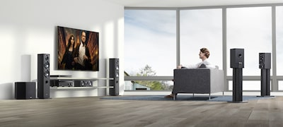 Bild von 7.2-Kanal AV-Receiver für Home Entertainment-Systeme