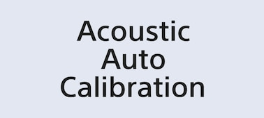 Acoustic Auto Calibration Logo