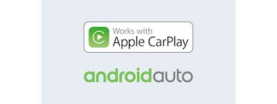 Apple CarPlay und Android Auto Logos