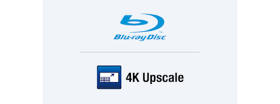 4K Upscaling und Blu-ray Disc™ Player