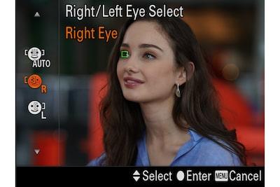 Priorisierung des rechten/linken Auges nach Bedarf
